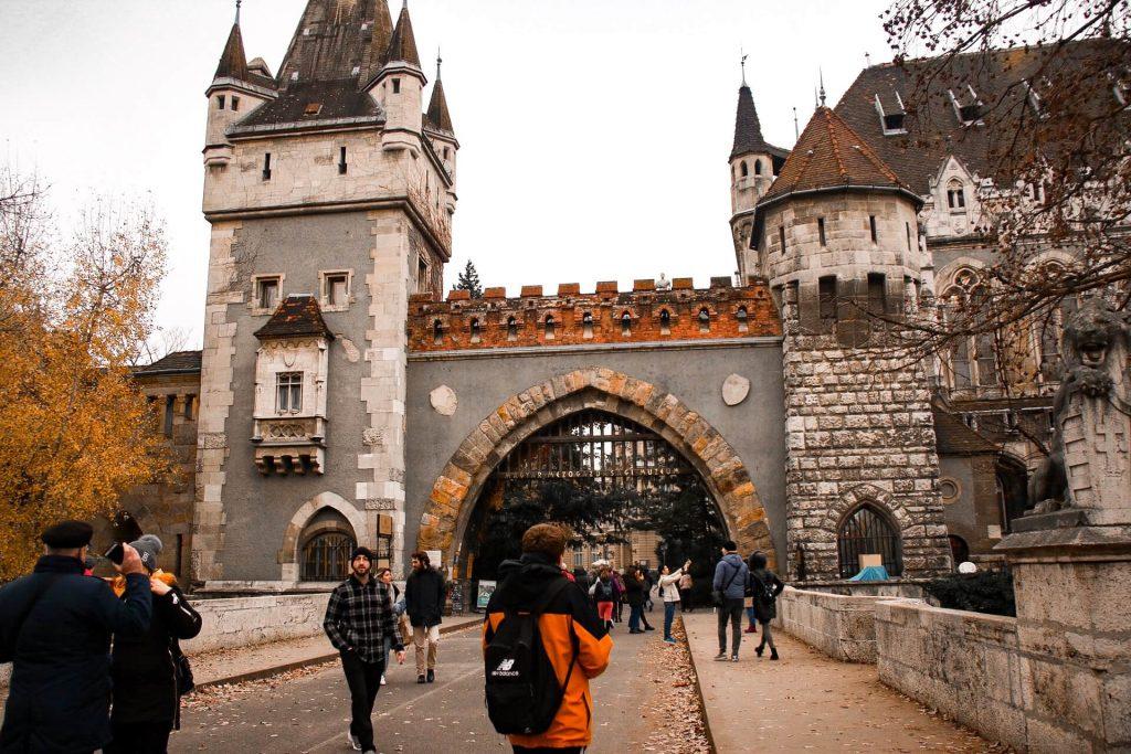 City park castle budapest