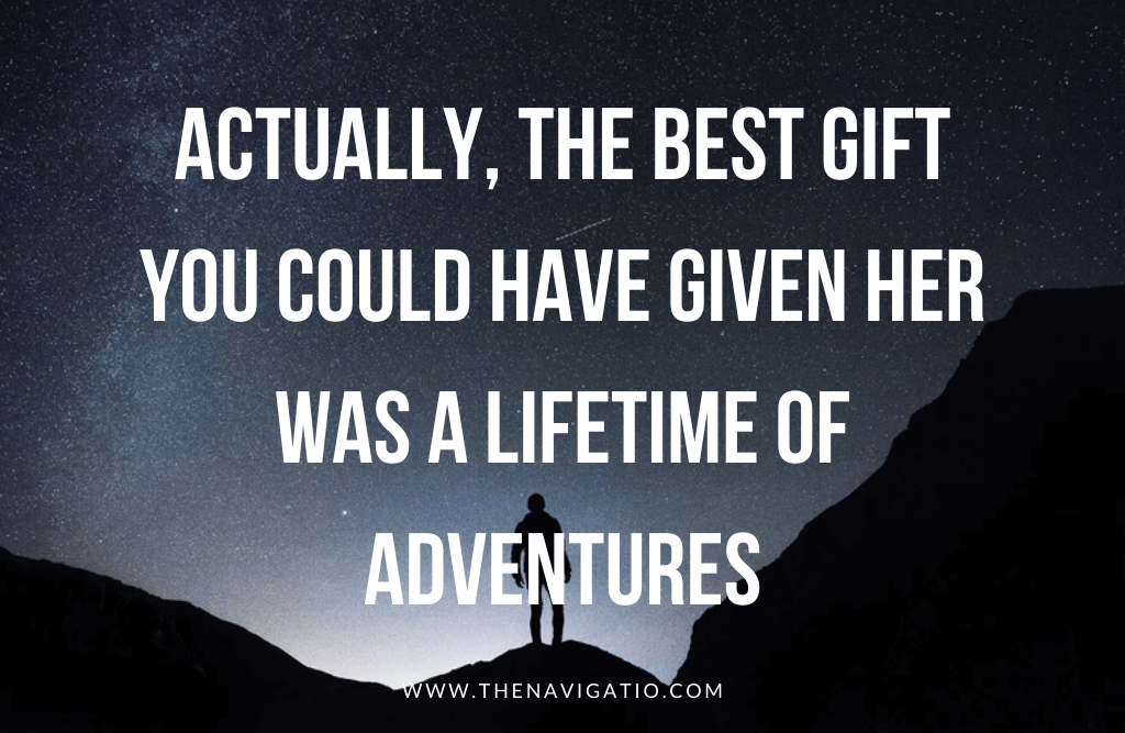 travel quotes, a lifetime of adventure