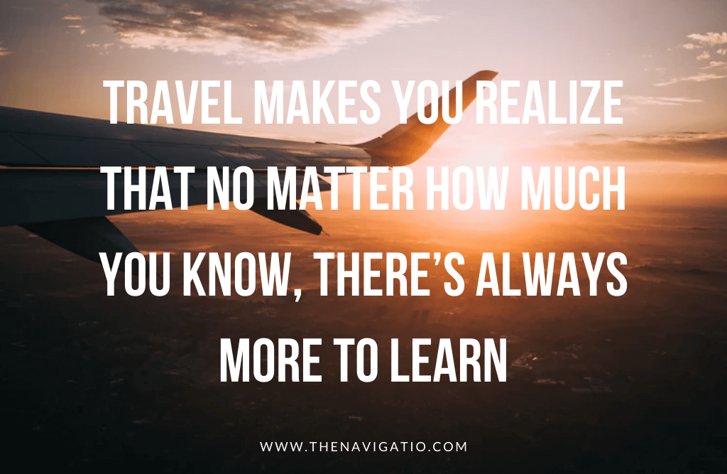 best travel quotes for instagram, travel makes you realise
