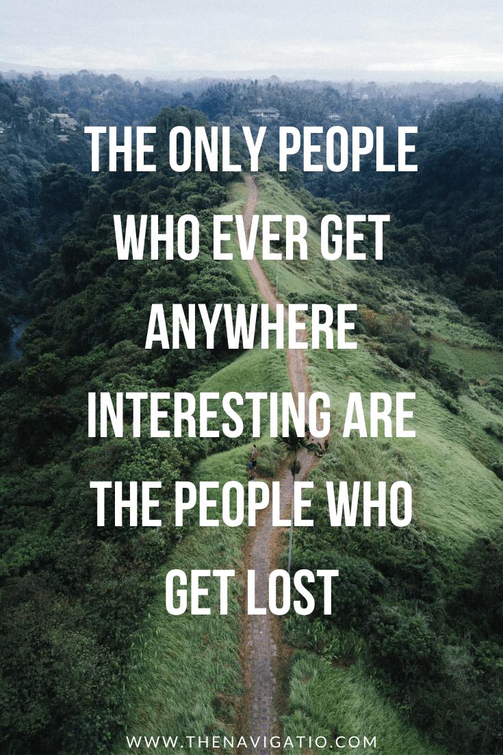 travel quote get lost