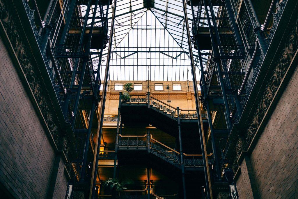 Bradbury Building Los Angeles