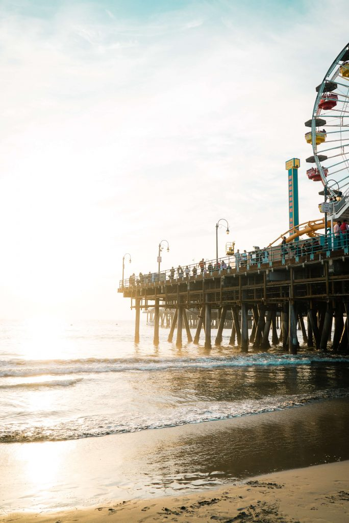 Santa Monica in Los Angeles itinerary
