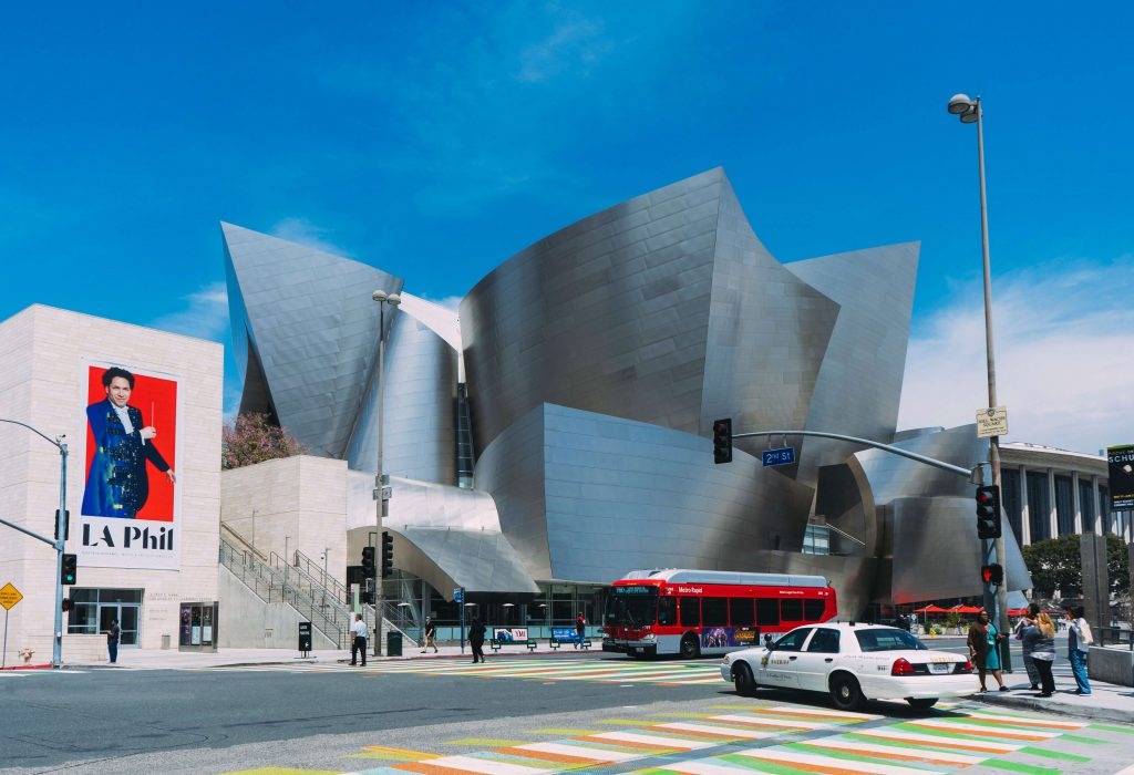 Walt Disney Concert Hall, 2 day los angeles itinerary