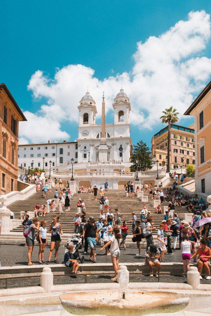 spanish steps rome itinerary 4 days