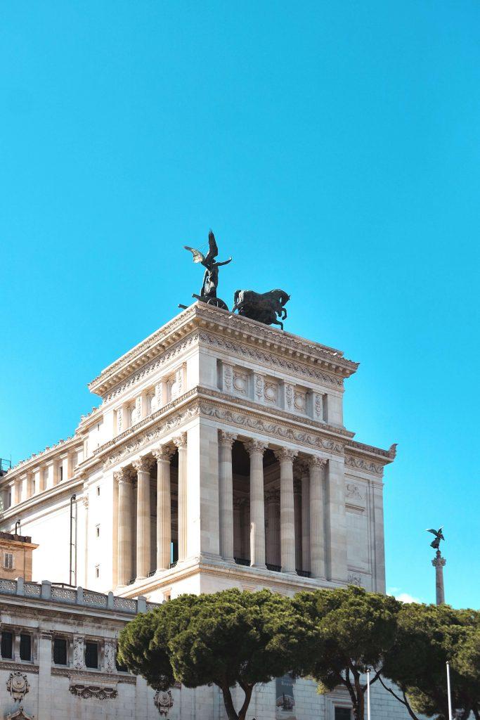 Altare della Patria Rome itinerary