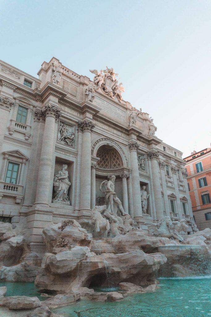 Trevi Fountain Rome Itinerary