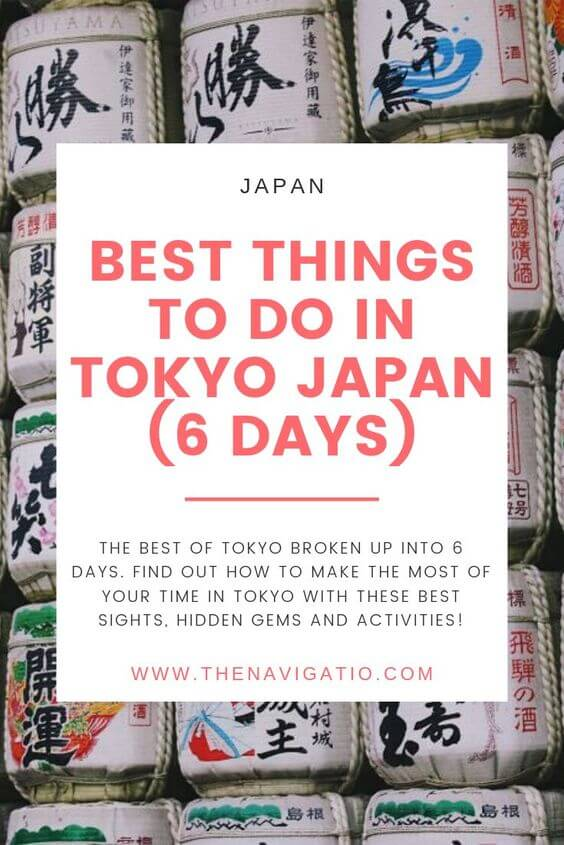 6 days in tokyo itinerary
