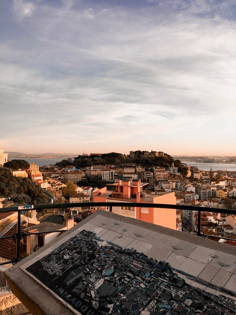 Views in Lisbon Sunset