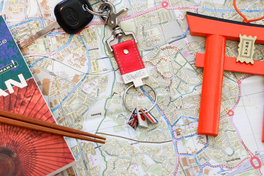 keyring travel lovers