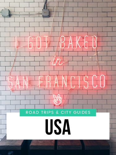 USA road trips and city guides
