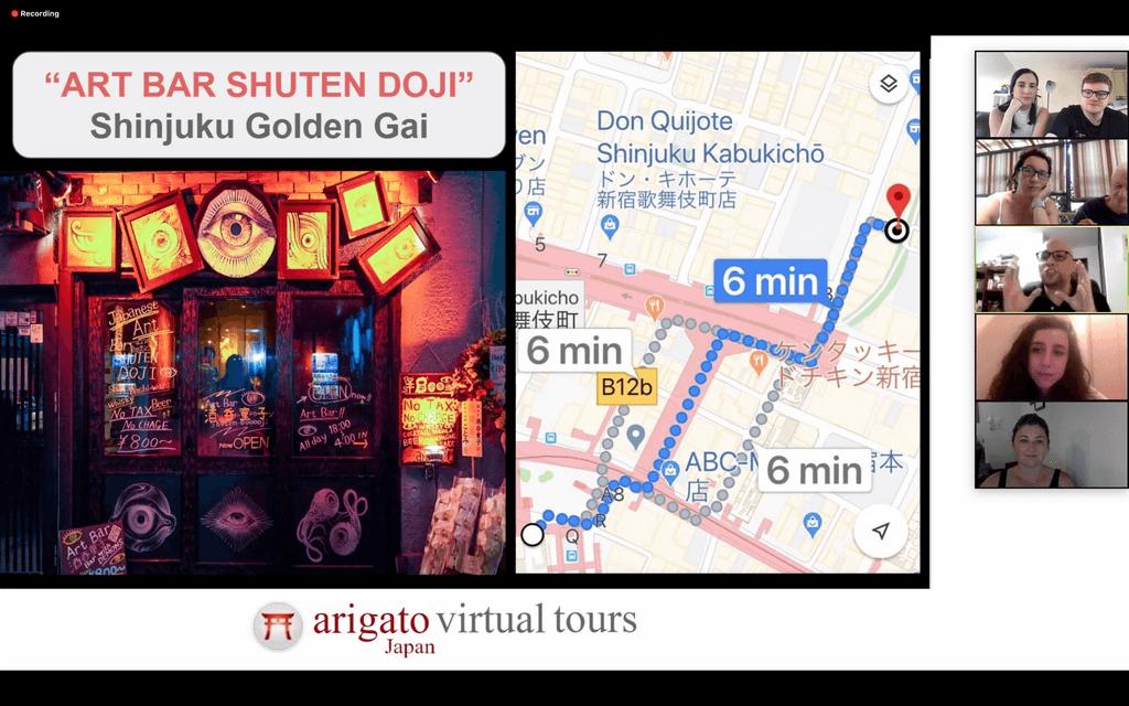 Virtual Tokyo Tour