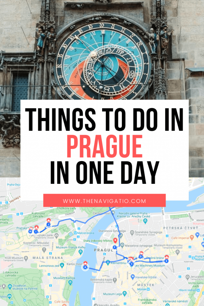 one day prague itinerary