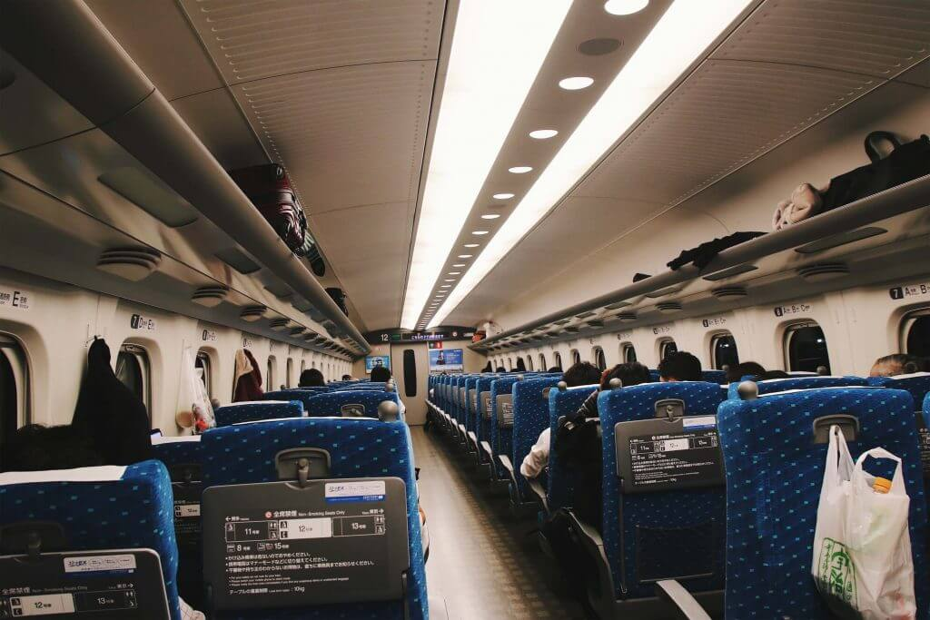 bullet train shinkansen japan