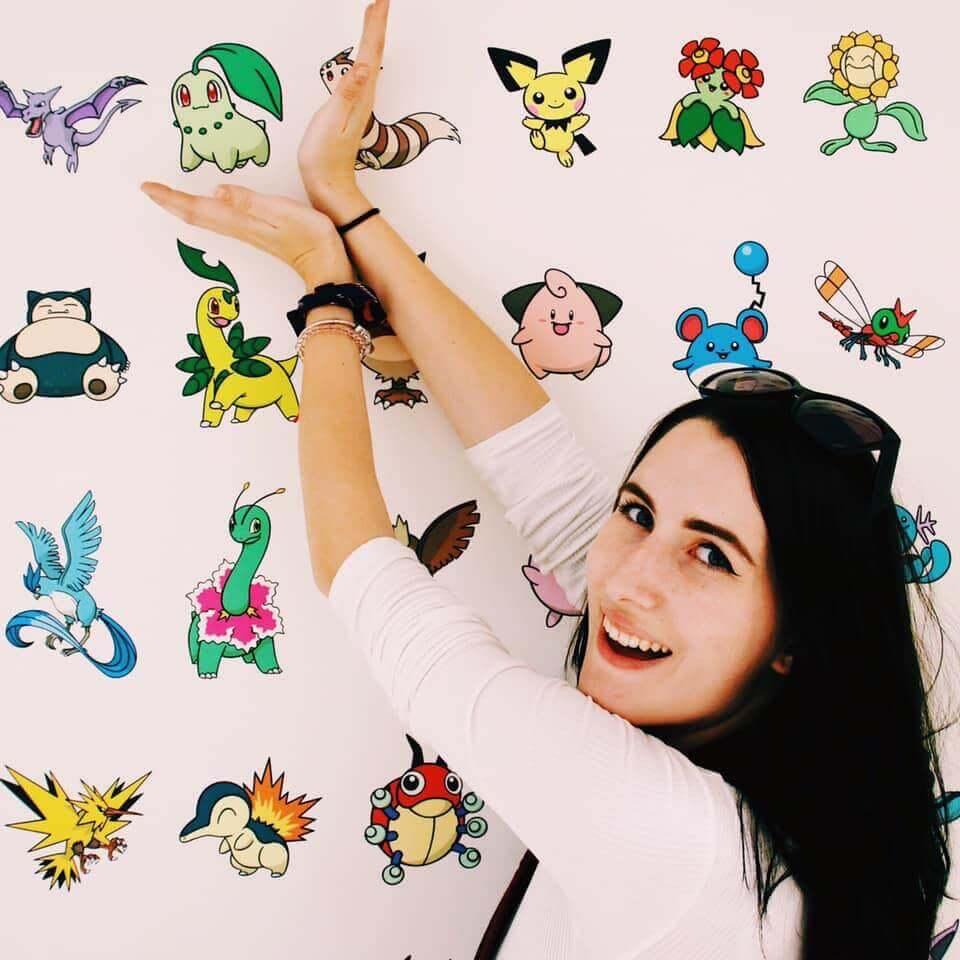 Pokemon mega store in Tokyo