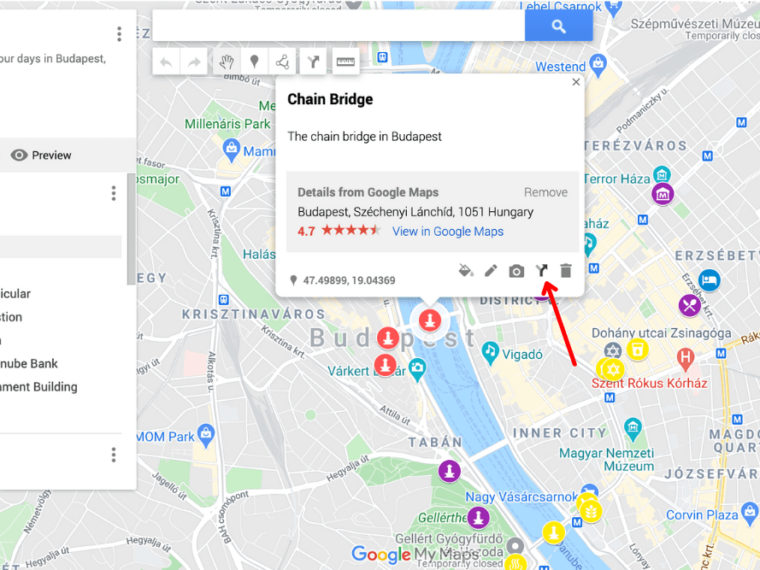 google maps route planner