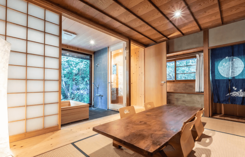 airbnb in kyoto
