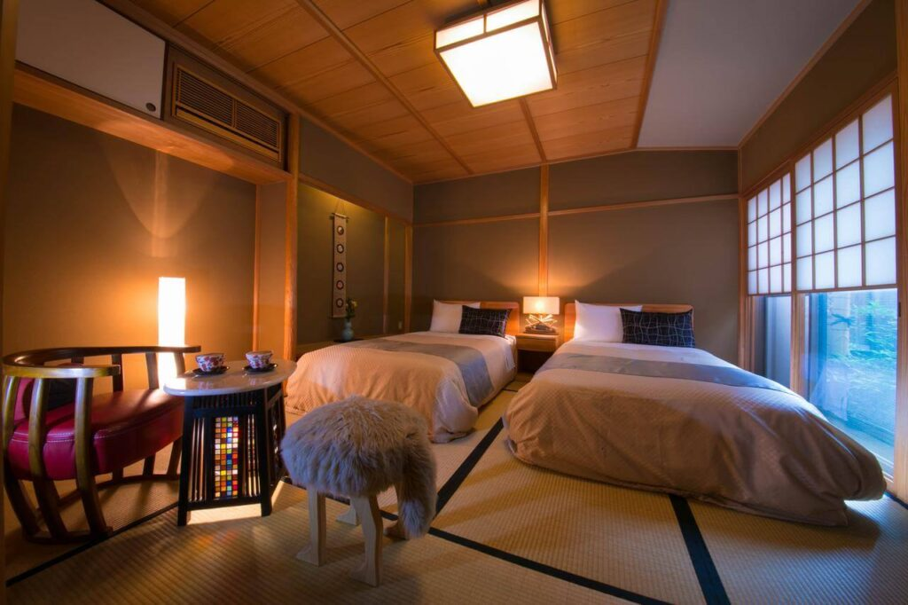 where to stay in kyoto ryokan